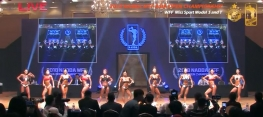NABBA WFF ASIA OPEN CHAMPIONSHIP 2018-Miss Sports Model(S/T)