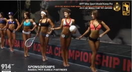 WFF Miss Sport Model Korea Pro